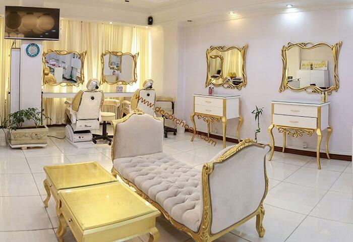 دکوراسیون آرایشگاه شیک زنانه