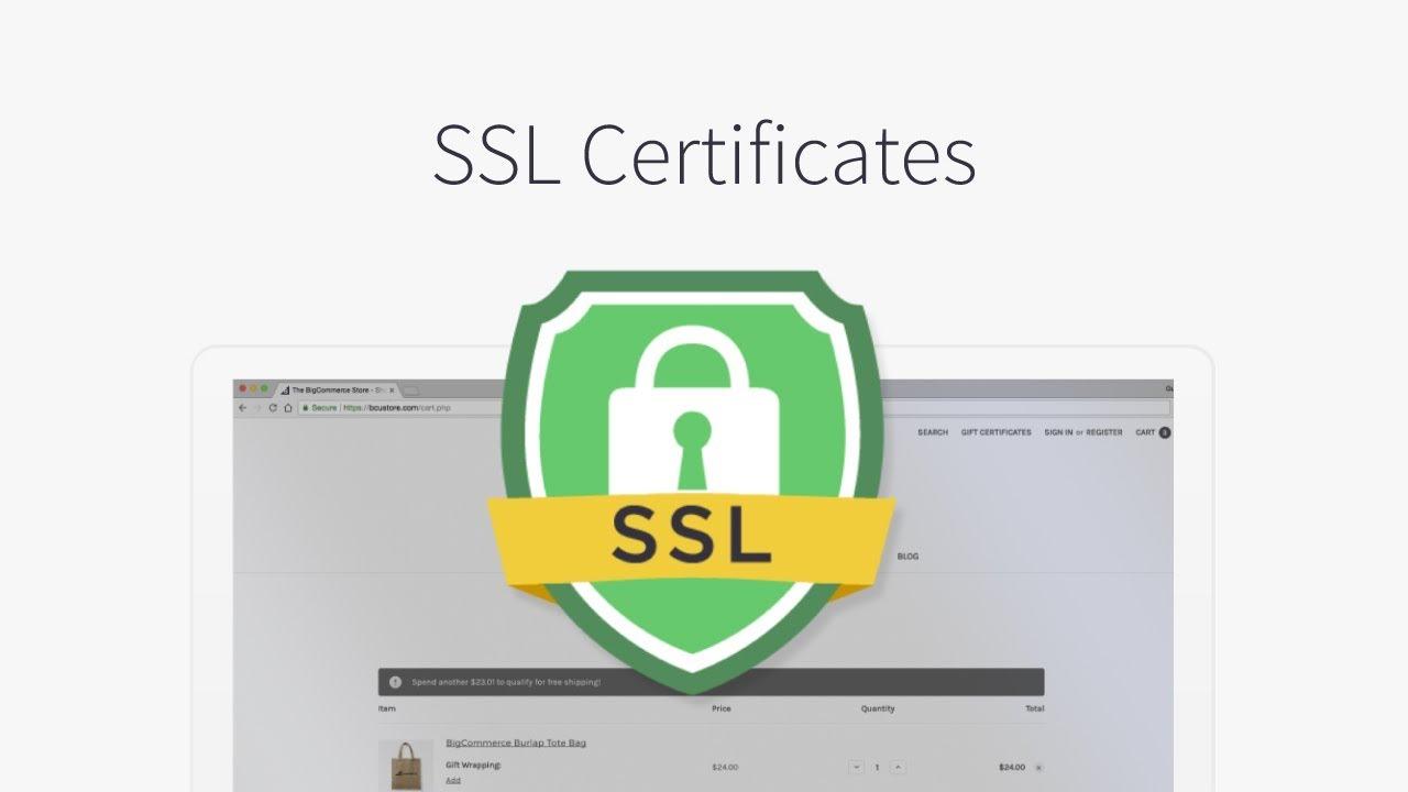 گواهینامه SSL و اعتبار سایت فروشگاه اینترنتی