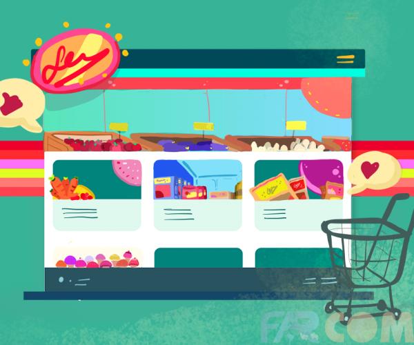 اصول طراحی سایت فروشگاهی
